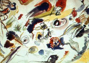 Primo acquerello astratto Kandinskij