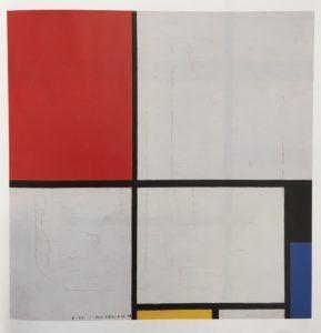 Piet Mondrian, Composizione con rosso, nero, blu, giallo