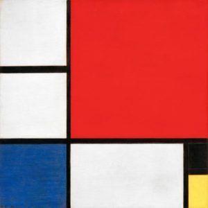 Piet Mondrian, Composizione con rosso, blu, giallo e nero, 1929