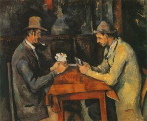 I giocatori di carte, Cézanne