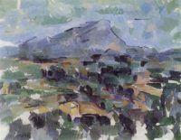 la montagna di Sainte-Victoire, Cézanne